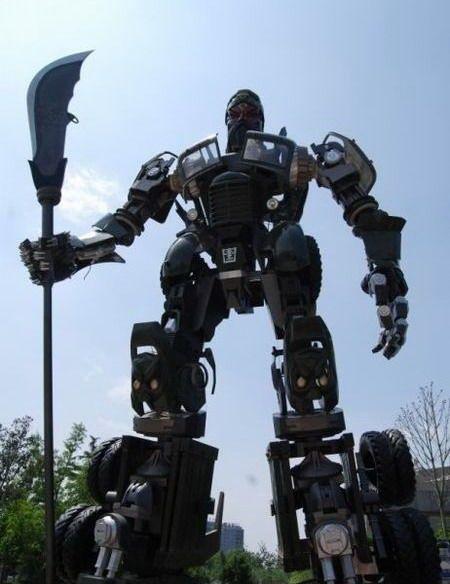 Real life Transformer