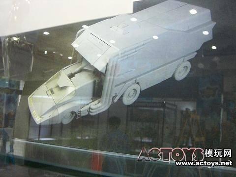 Masterpiece Rodimus Convoy vehicle mode