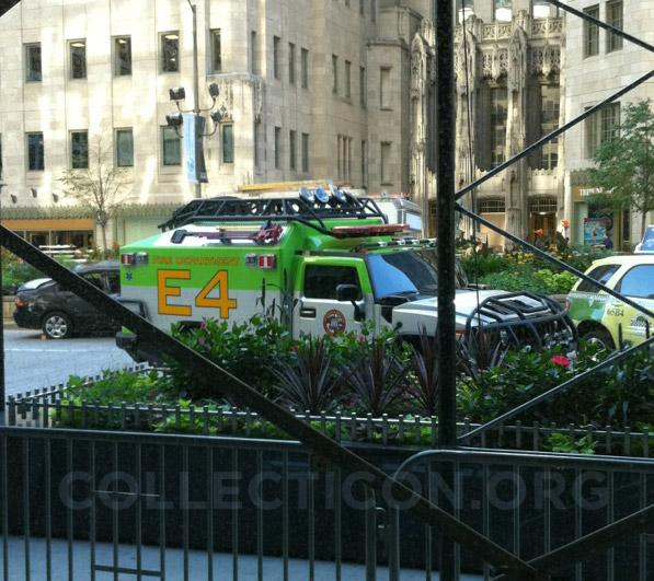Transformers 3 Ratchet on Michigan Avenue