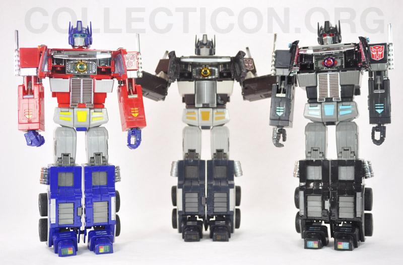 Transformers Masterpiece MP4S Convoy Sleep Mode