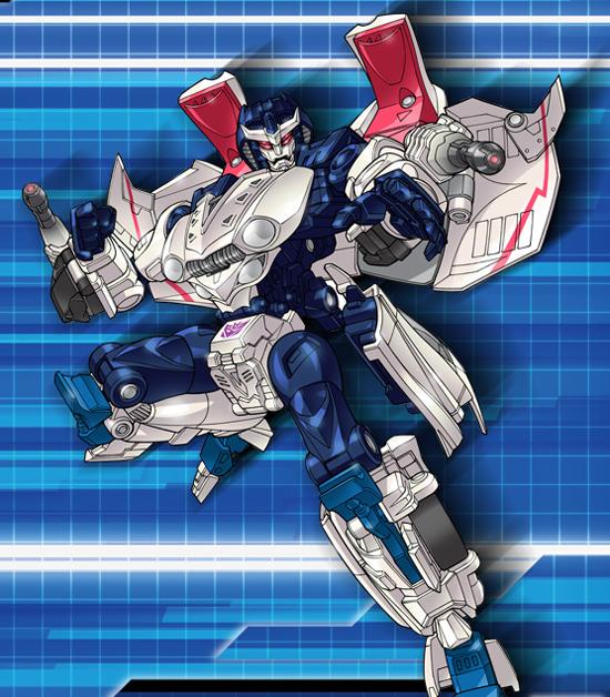 Transformers Alternity Starscream artwork