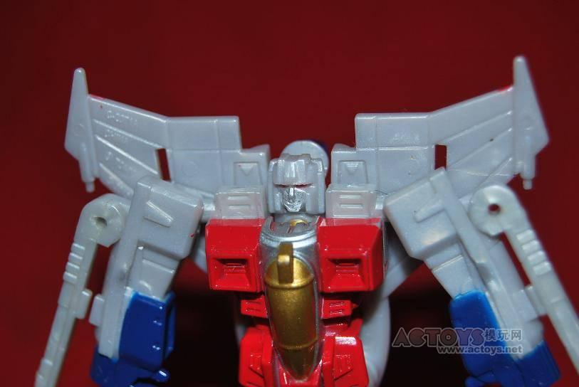 Transformers G1 Legends Starscream close-up