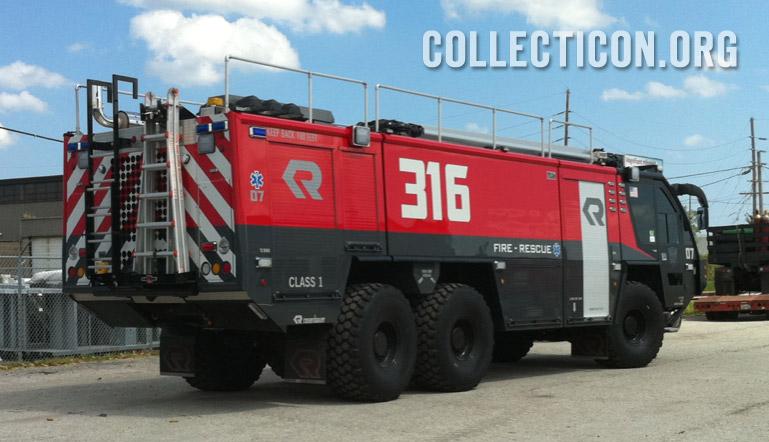 Collecticon Transformers 3 Sentinel Fire truck
