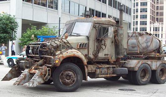 Transformrers 3 Megatron truck rumor