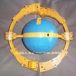 G1 Unicron toy prototype planet mode