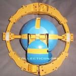 G1 Unicron toy prototype planet mode open