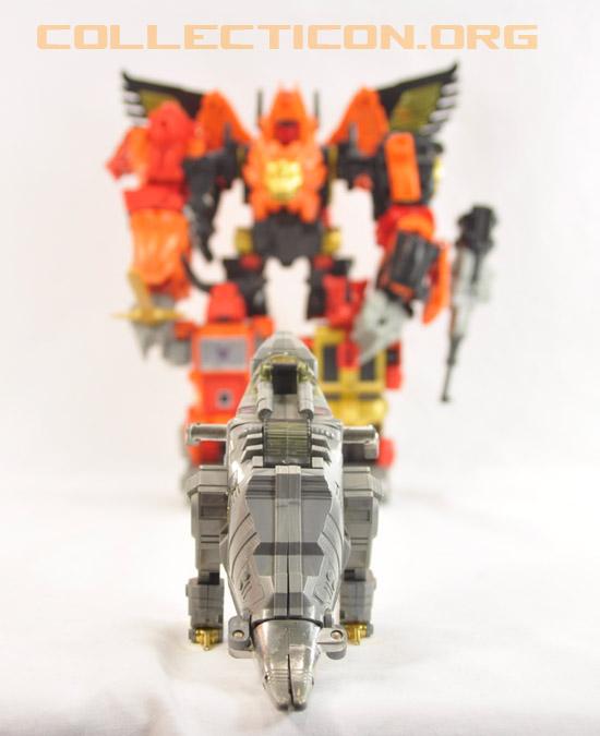 Transformers 2010 Predaking meets Generation 1 Grimlock