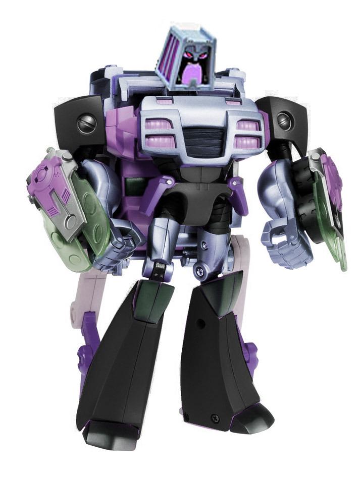 Botcon 2011 animated Motormaster as Wreck-Gar