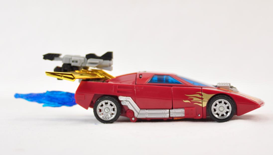 classics hot rod in car mode
