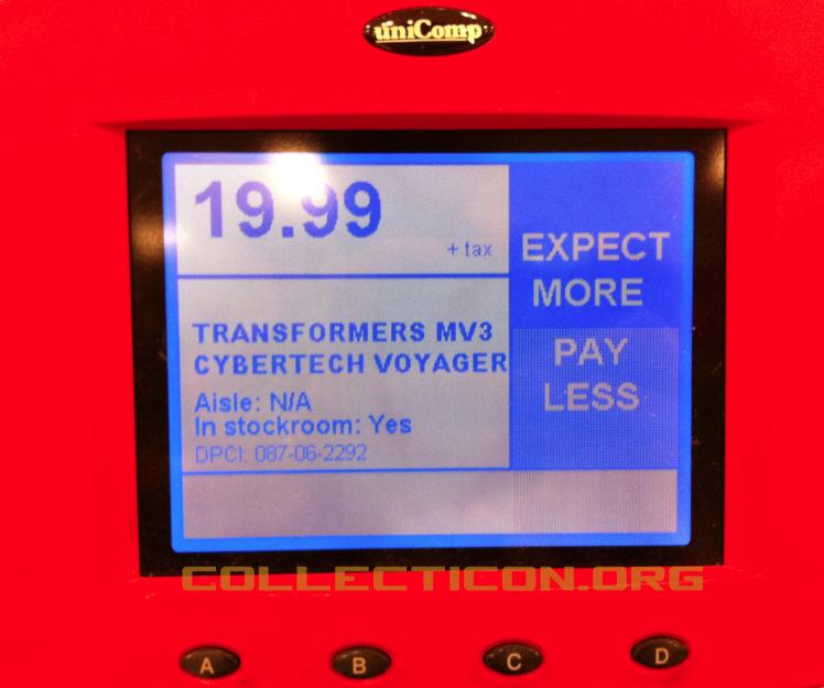 Target item scanner