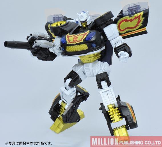 Transformers United Stepper