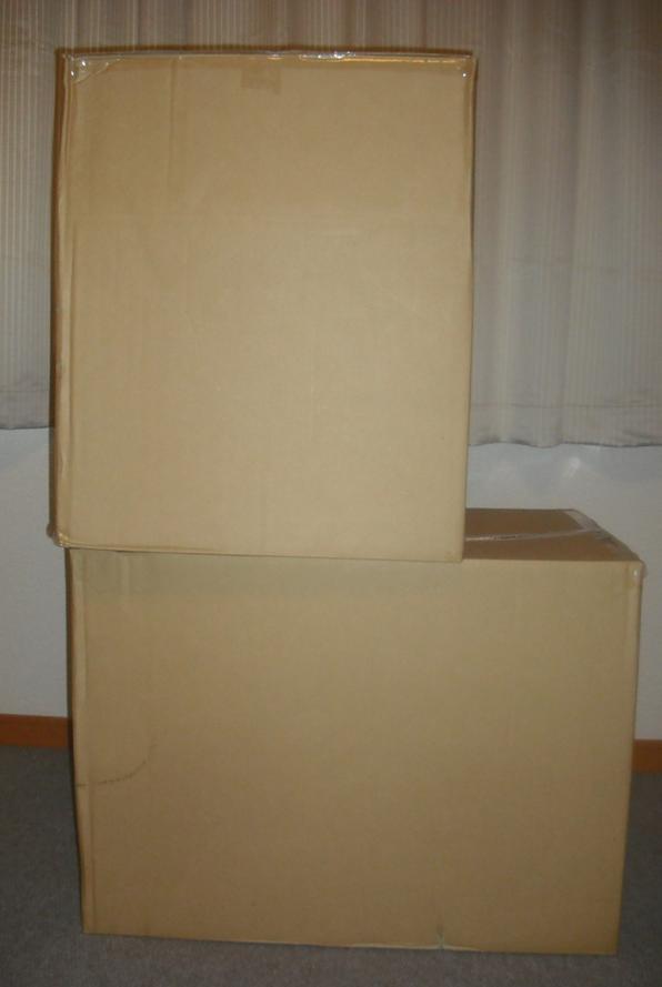 Fucking giant boxes!