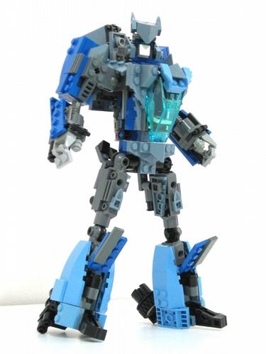 Transformers Lego Blurr robot mode
