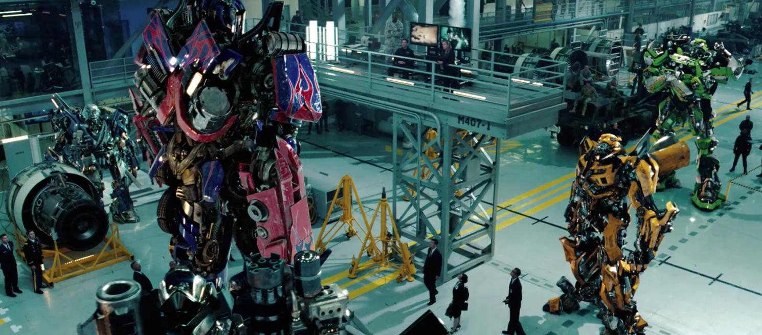 Transformers Dark of the Moon Wheeljack and autobots