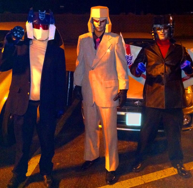 Decpticons cosplay costume starscream soundwave megatron