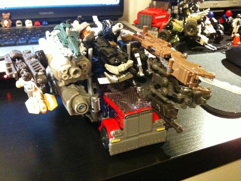 Transformers Dark of the Moon Mechtech