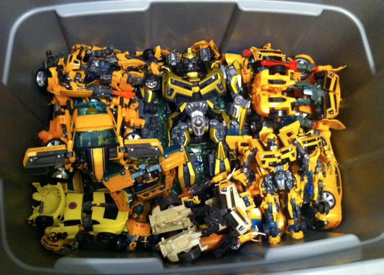 Collecticon Movie bumblebee collection