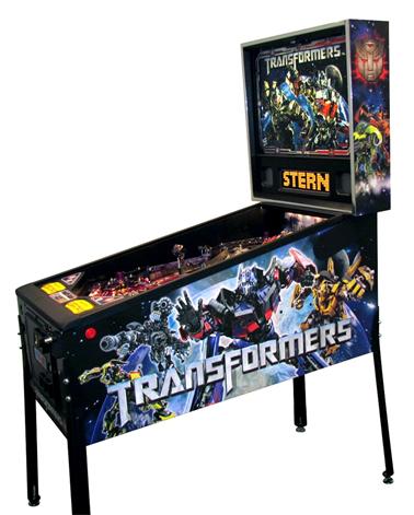 Transformers pinball machine from Stern