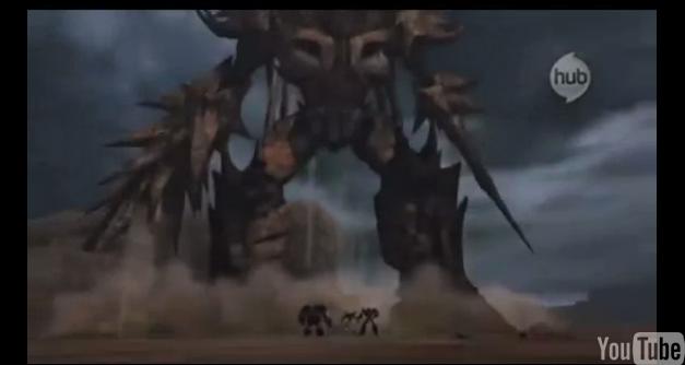Transformers Prime Unicron robot mode