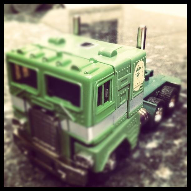 Bathing Ape Green G1 Optimus Prime cab