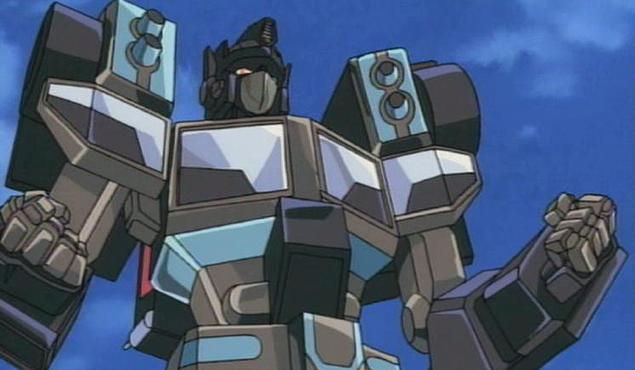 Black Convoy from Car Robots