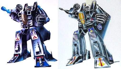 Transformers Black Generation 2 Starscream nightscream night attack