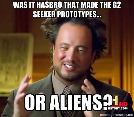 Transformers Generation 2 prototype aliens