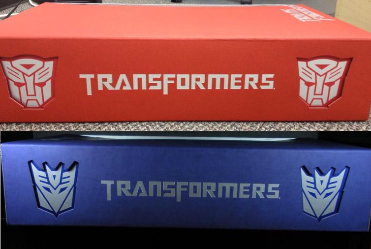Transformers Hong Kong Movie 1 giftsets