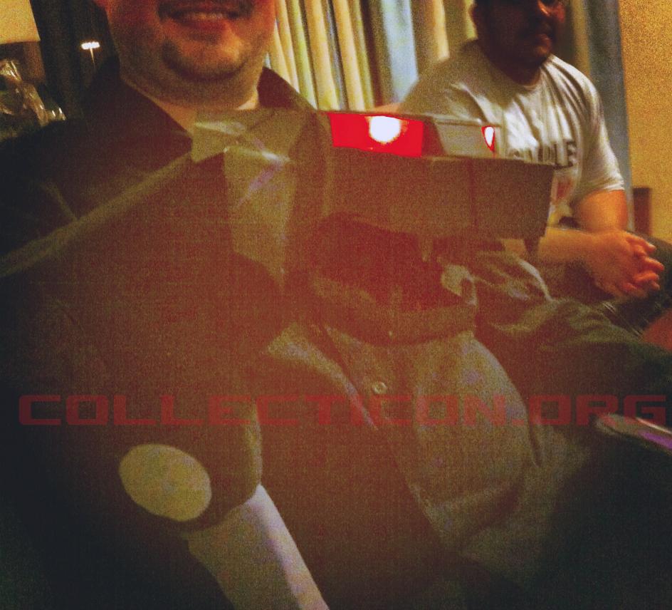 Jon 3.0 and his Ravage puppet at botcon 2012