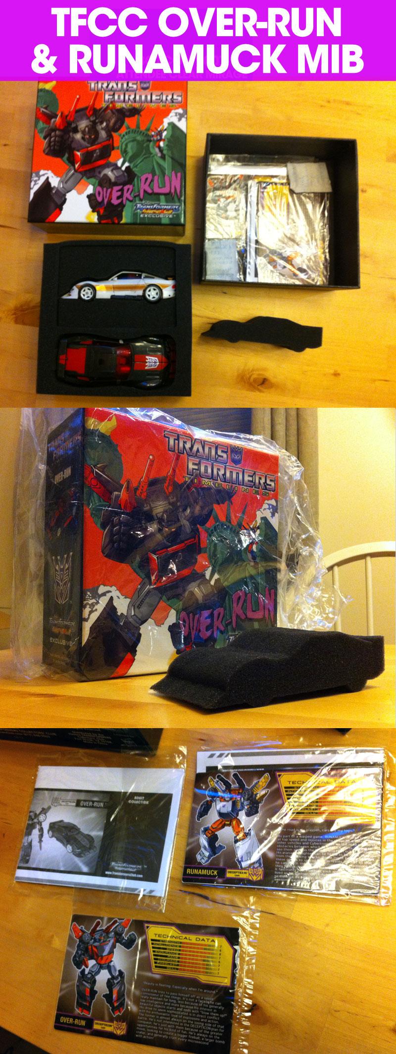 Transformers Collector club Over Run runamuck