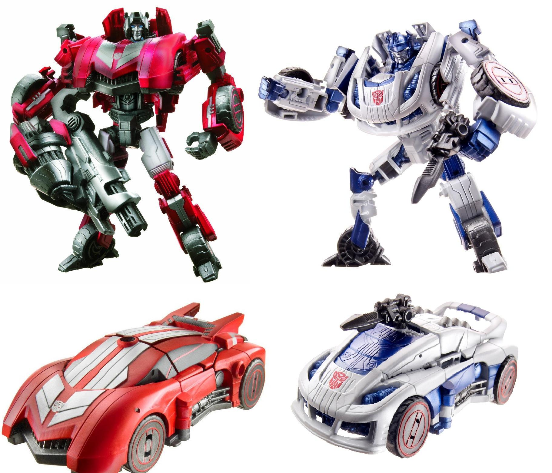 Transformers Fall of Cybertron Sideswipe and Jazz