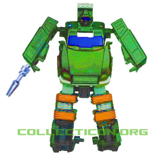 Transformers G1 Hoist robot gun