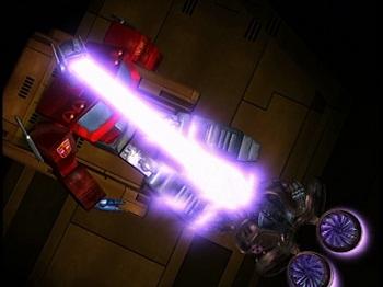 2 Beast Wars Megatron destroys G1 Optimus Prime