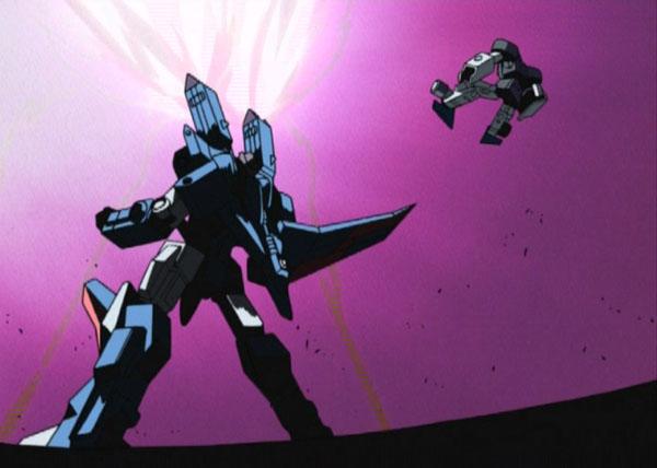 3 The death of Starscream in Transformers Armada / Micron Legend