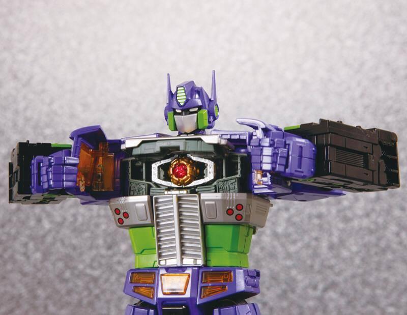 More awesome Evangelion Optimus Prime photos