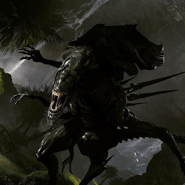 Neill Blomkamp Alien Queen concept Aliens 5