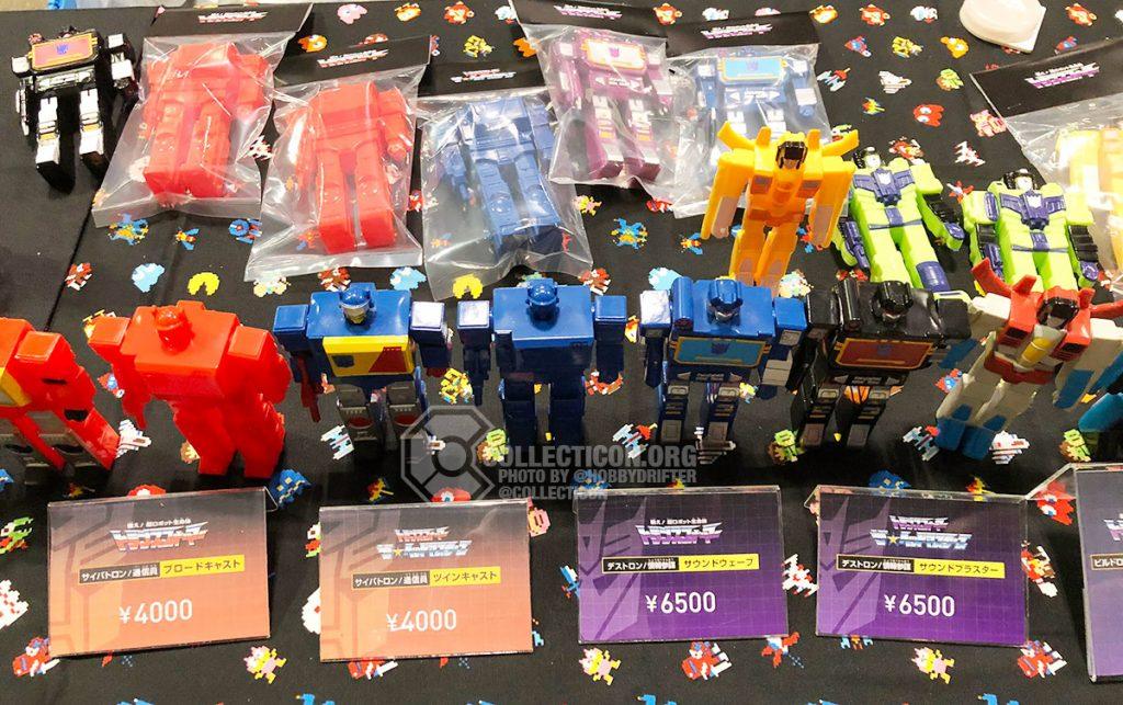 Paralizing Toyz Soft Vinyl Transformer Figures at Wonderfest 2020