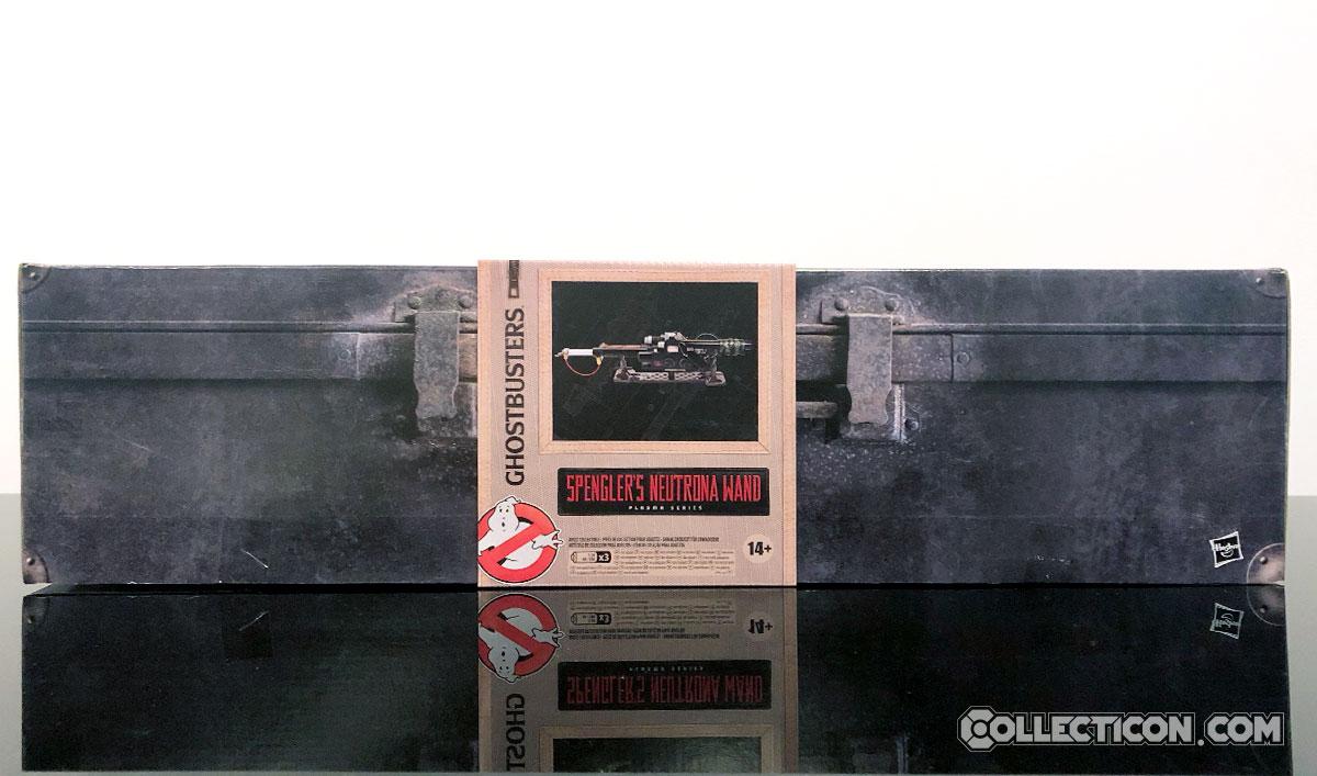 Ghostbusts plasma series egon's neutrona wand box front