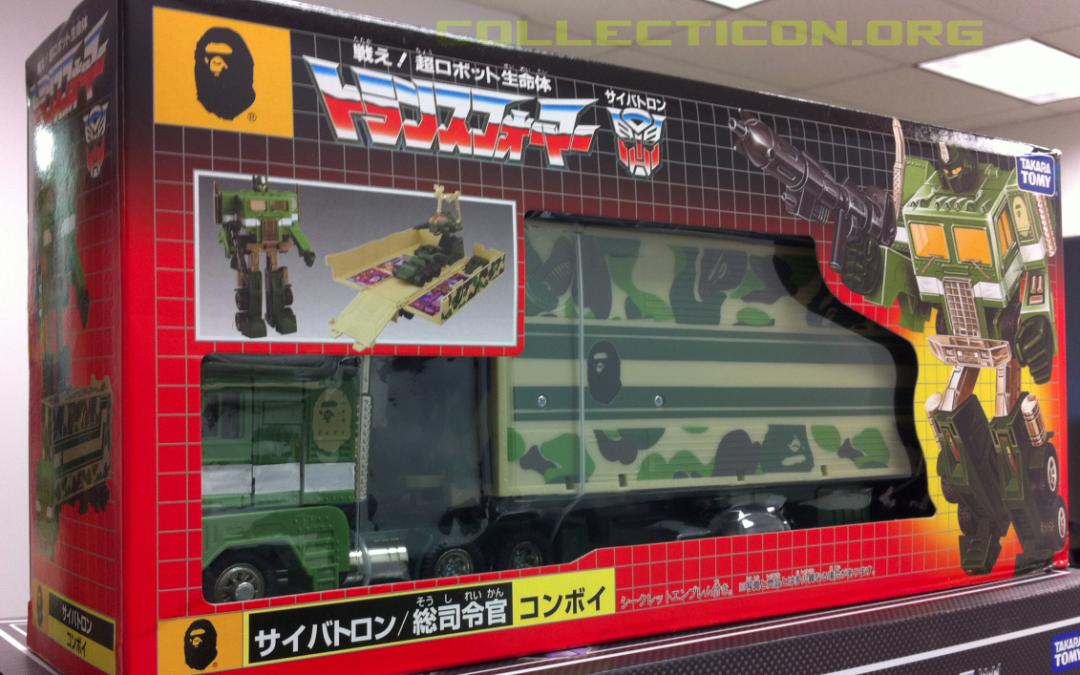 Bathing Ape Optimus Prime – BAPE Convoy has me dreaming in green